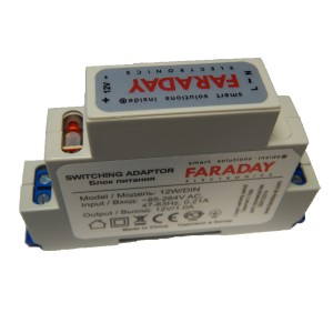 Блок питания FARADAY 12W/OPF/DIN (12В 1А)